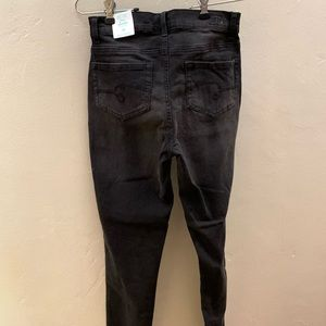 New. Justice Black Jeggings. Size 16